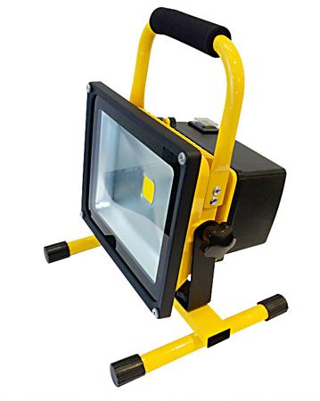 tragbarer led strahler 1x30w 2700lm 3000 k warm weiss 240vac ip65 01 430m. Black Bedroom Furniture Sets. Home Design Ideas