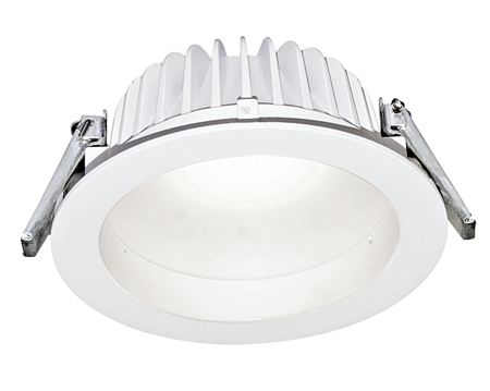 noser led downlight 23w 1800lm farbe weiss 3000 k. Black Bedroom Furniture Sets. Home Design Ideas