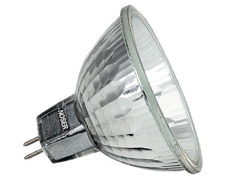 noser halogen coollight mr11 35mm 12v 20w 30grad alu bechichtet mit schutzglas. Black Bedroom Furniture Sets. Home Design Ideas