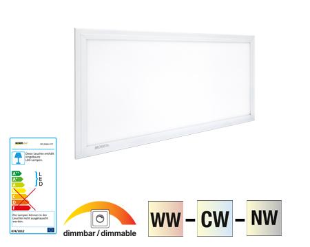 noser led panel cct 48w 2880lm max dc24v cri 80 110 30x60cm xpl3060 cct. Black Bedroom Furniture Sets. Home Design Ideas