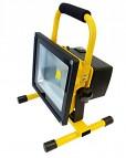Tragbarer LED Strahler 1x30W, 2700lm, 6000°K- kaltweiss - 240VAC, IP65