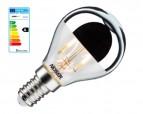 NOSER LED Tropfen-Kopfspiegel G45, E14, 3W, 300lm, warmweiss - 2700°K