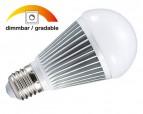 NOSER LED E27 A60, DIMMBAR, 9W, >840lm, 220-240V, warmweiss, Ersatz für 60W!